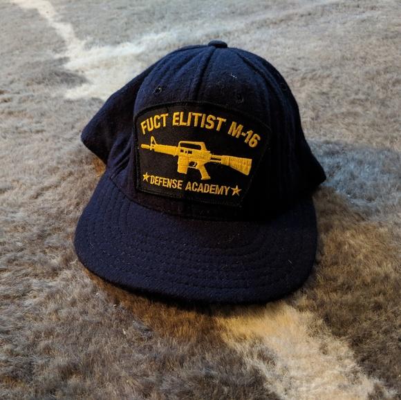 6dc1c7f7227 FUCT elitist m-16 Snapback Hat